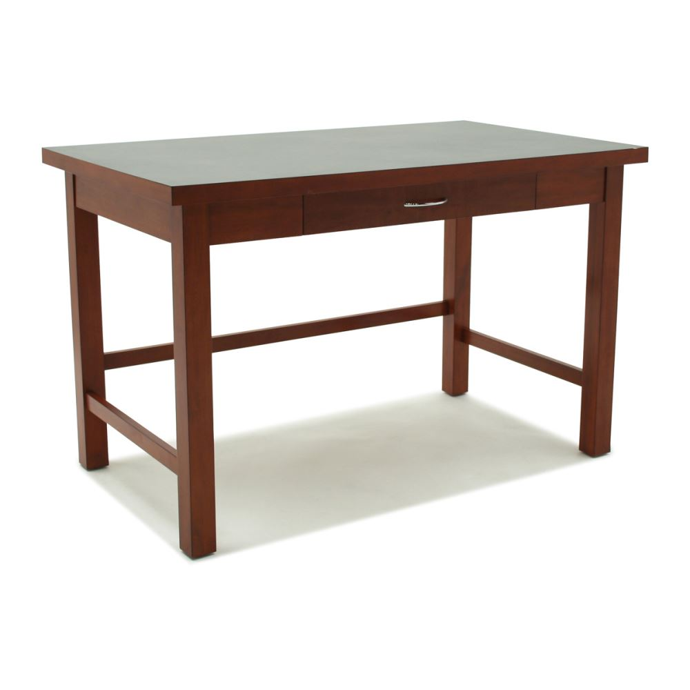 Hotelure Desk with Drawer, Brown