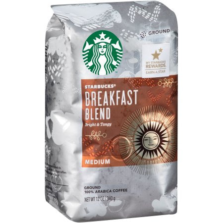 Starbucks® BREAKFAST 5OZ Ground 32/CS