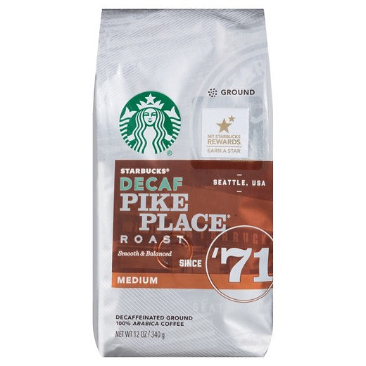 Starbucks® DECAF PIKE PLACE 5OZ Ground 32/CS