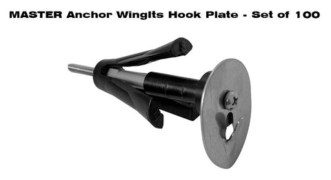 MASTER ANCHOR W/ HOOK PLATE - BULK PACK (100 ANCHORS)