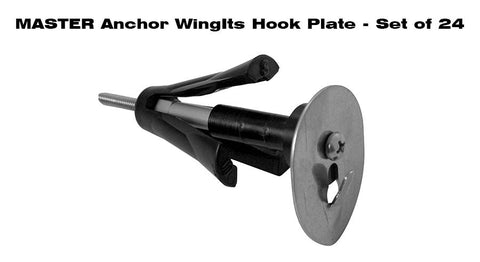 MASTER ANCHOR W/ HOOK PLATE - BULK PACK (24 ANCHORS)