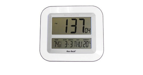 Atomic LCD Wall or Desk Clock with 2.5