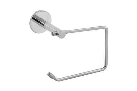 MODERN ELEGANCE EURO TOILET PAPER HOLDER / TOWEL RING