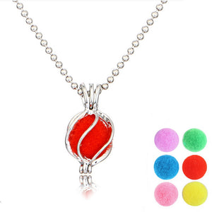 Vintage Aromatherapy Lockets Pendant Necklaces Jewelry Gift Hot Sale Essential Oil Diffuser Locket Necklace for Women Men