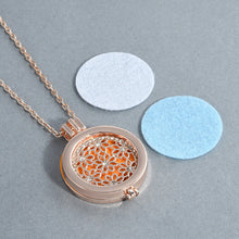 New Charms Glass Locket necklace Fragrance Essential Oil Pendant Necklaces & Pendants Jewelry for Women Sweater necklace