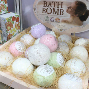 Premium Bubble Bath Bomb Ball Essential Oil Handmade SPA Christmas Gift