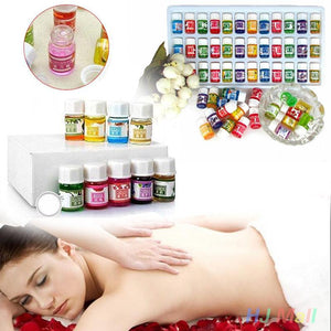 Natural 36pcs/lot Water-soluble Pure Lavender Massage Essential Oils Pack Set Fragrance