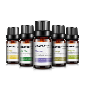 Essential Oil for Diffuser, Aromatherapy Oil Humidifier 6 Kinds Fragrance of Lavender, Tea Tree, Rosemary, Lemongrass, Orange