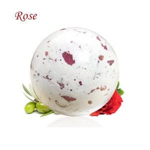 Body Care Bath Bombs Bubble Bath Salts Ball Essential Oil Handmade SPA Stress Relief Exfoliating Marigolds Rose Flavor Makeup