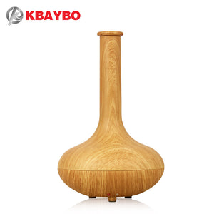 Essential Oil Diffuser Ultrasonic Humidifier aromatherapy air purifier mist maker home furnishings 7 color vase