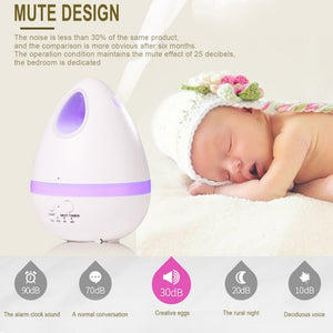 Air Aroma Humidifier Color LED Lights Electric Aromatherapy Essential Oil Aroma Diffuser Household Humidifying Purifier