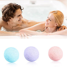 8 Pcs/ Set Romantic Organic Fizzy Bath Bombs Set Handmade SPA Bath Salts Stress Relief Exfoliating Gift For Skin Care Tool  FM88