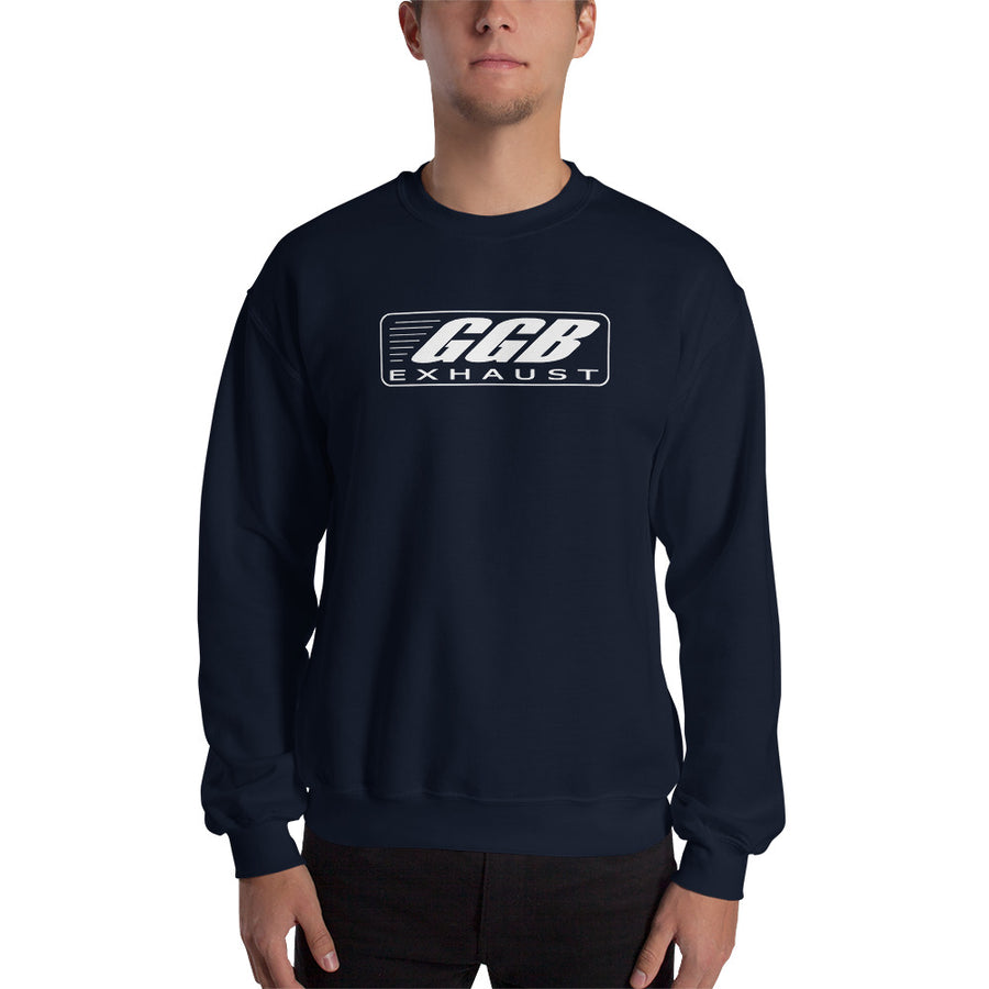 GGB Exhaust Crewneck Sweatshirt (Logo on Front)