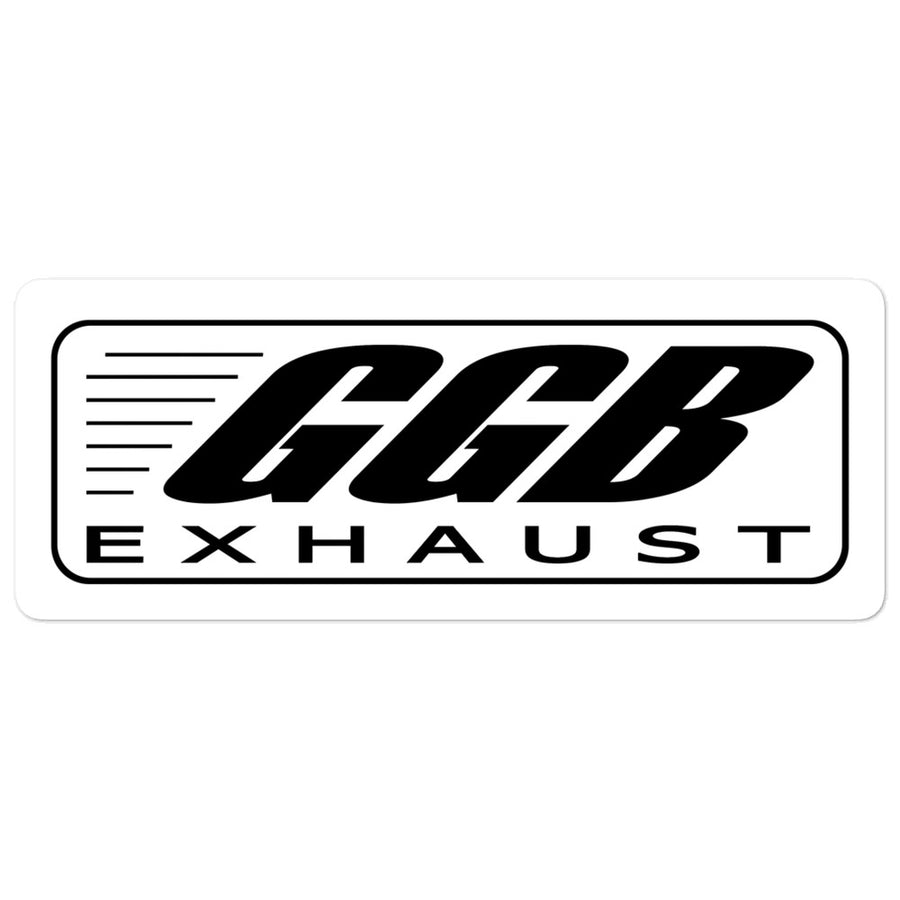 GGB Exhaust Sticker 5.5 inch