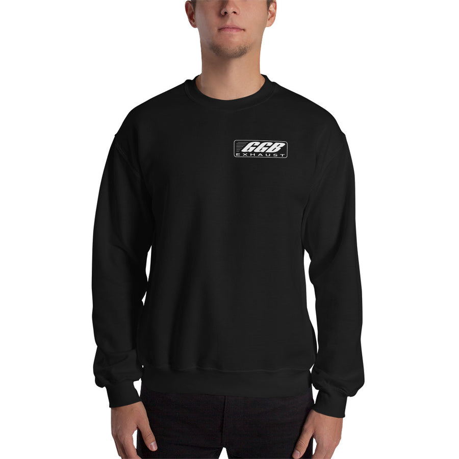 GGB Exhaust Crewneck Sweatshirt (Logo on Back and Front)