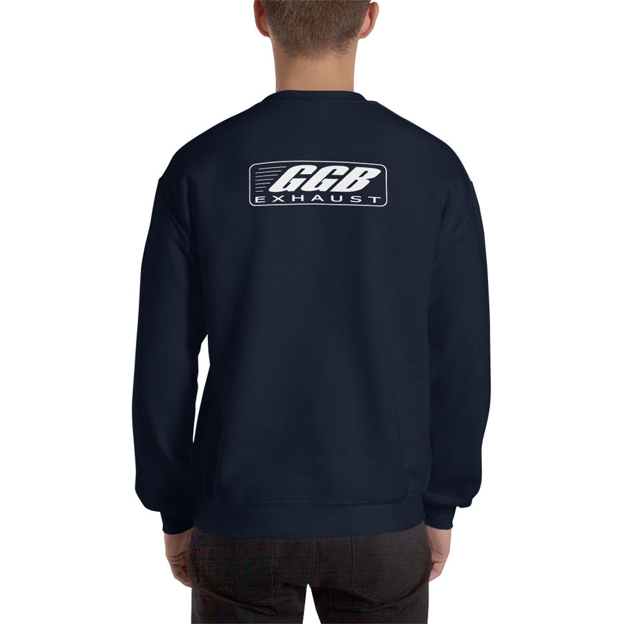 GGB Exhaust Crewneck Sweatshirt (Back Logo Only)