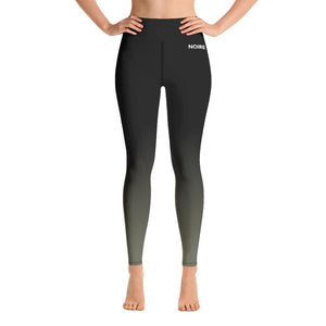 Olive Gradient Leggings (Plus)