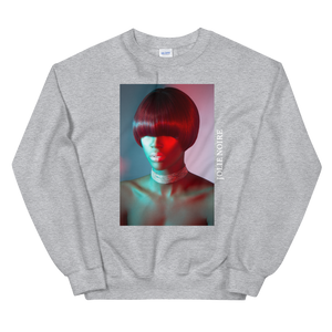 Precision in Color Photograph Sweatshirt by Tailiah Breon- Grey