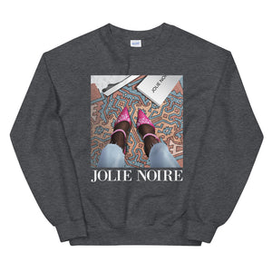 In Her Shoes Sweatshirt- Dark Grey