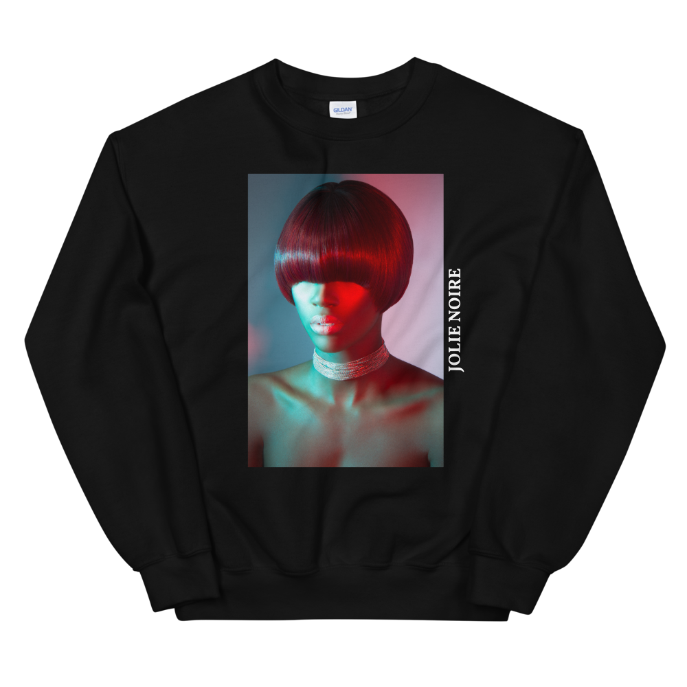 Precision in Color Photograph Sweatshirt by Tailiah Breon- Black