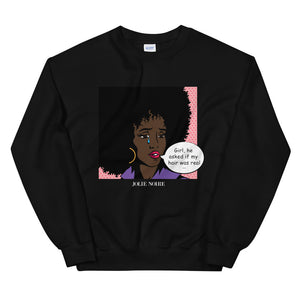 NOIRE x JOLIE NOIRE- Girl With Tear Sweatshirt