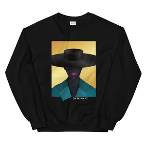 NOIRE x JOLIE NOIRE- Girl With Hat Sweatshirt