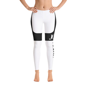JOLIE NOIRE Leggings White/Black