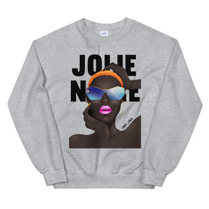 Grace No Jones Sweatshirt- Grey