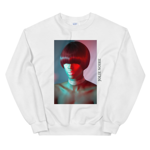 Precision in Color Photograph Sweatshirt by Tailiah Breon- White
