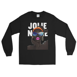 Grace No Jones Long Sleeve Tee- Black