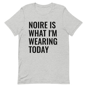 What I'm Wearing Today Tee- Athletic Heather