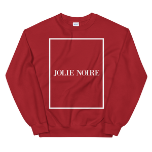 JOLIE NOIRE SIGNATURE SWEATSHIRT- Red (Holiday Exclusive)