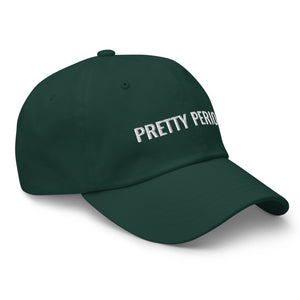 Pretty Period Hat- Forest