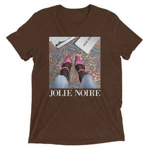 In Her Shoes Tee- Heather Brown