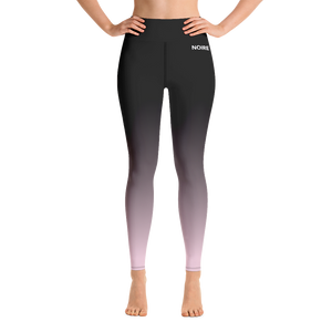 Rose Gradient Leggings (Plus)