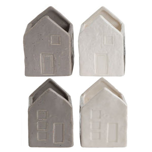 "3"" x 4"" Stoneware House Magnets"