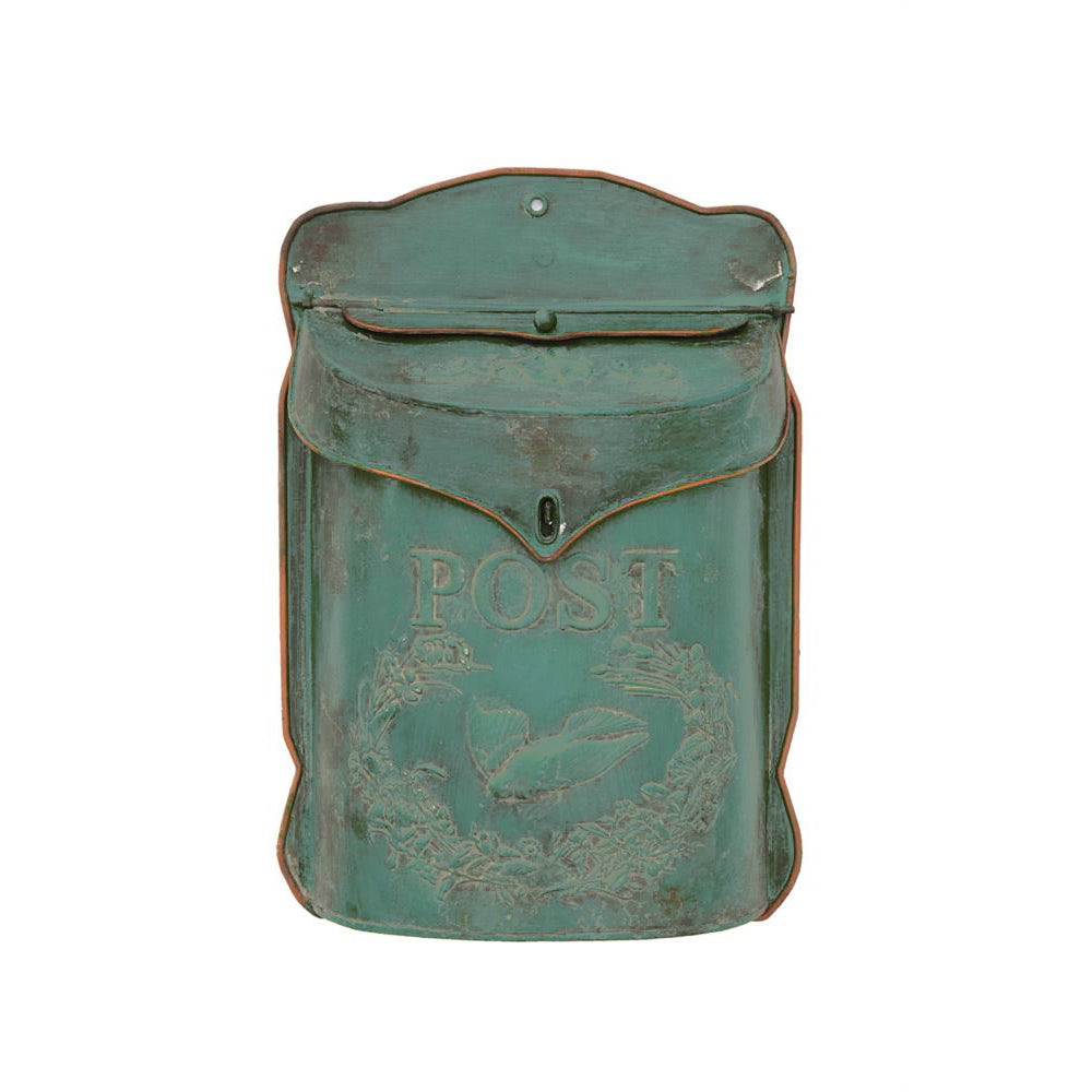 Vintage Distressed Post Box