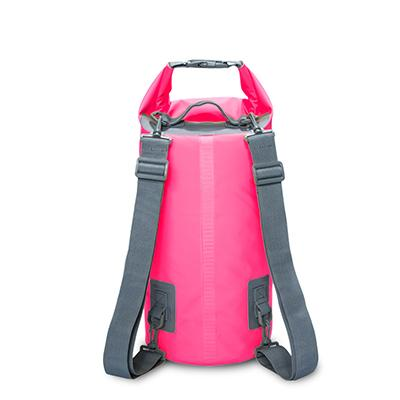 Image of 15L 20L Outdoor River Trekking Bag Double Shoulder Strap Swimming Waterproof Bags Backpack Dry Organizers For Drifting Kayaking