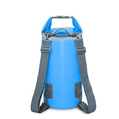 15L 20L Outdoor River Trekking Bag Double Shoulder Strap Swimming Waterproof Bags Backpack Dry Organizers For Drifting Kayaking