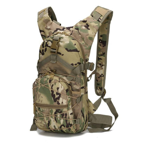Image of 15L Molle Tactical Backpack 800D Oxford Military Hiking Bicycle Backpacks Outdoor Sports Cycling Climbing Camping Bag Army XA568