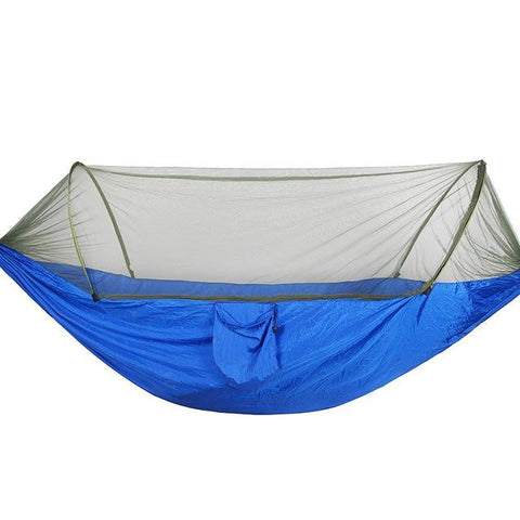 2 Person Multiuse Portable Hammock Camping Survivor Hammock With Mosquito Net Stuff Sack Swing Hamac Bed Tent Use Furniture