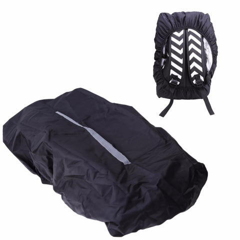 20-45L Waterproof Backpack Bag Unisex Reflective Dust Rain Cover For Camping Hiking Cycling Luggage Pouch Cover Case Travel Tool