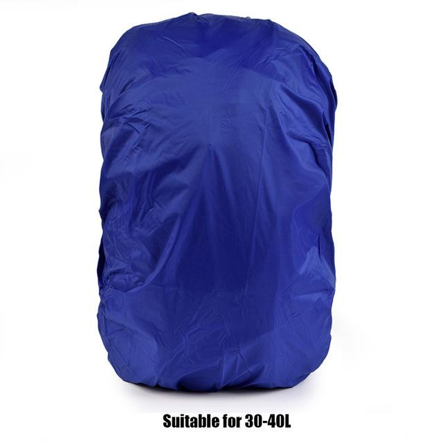 20-70L Waterproof Backpack Rain Cover For Hiking Climbing School Bag Protective Cover Mud Dust Rainproof Cover Travel Kits Suit