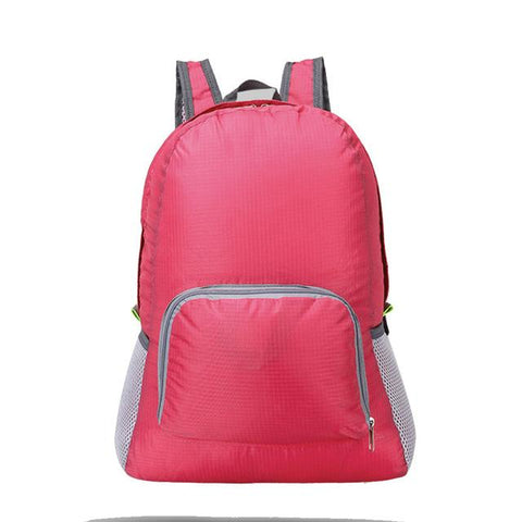 Image of 20L Foldable Backpack Lightweight Waterproof Nylon Women Men Skin Pack Travel Outdoor Sports Camping Hiking Bag Rucksack