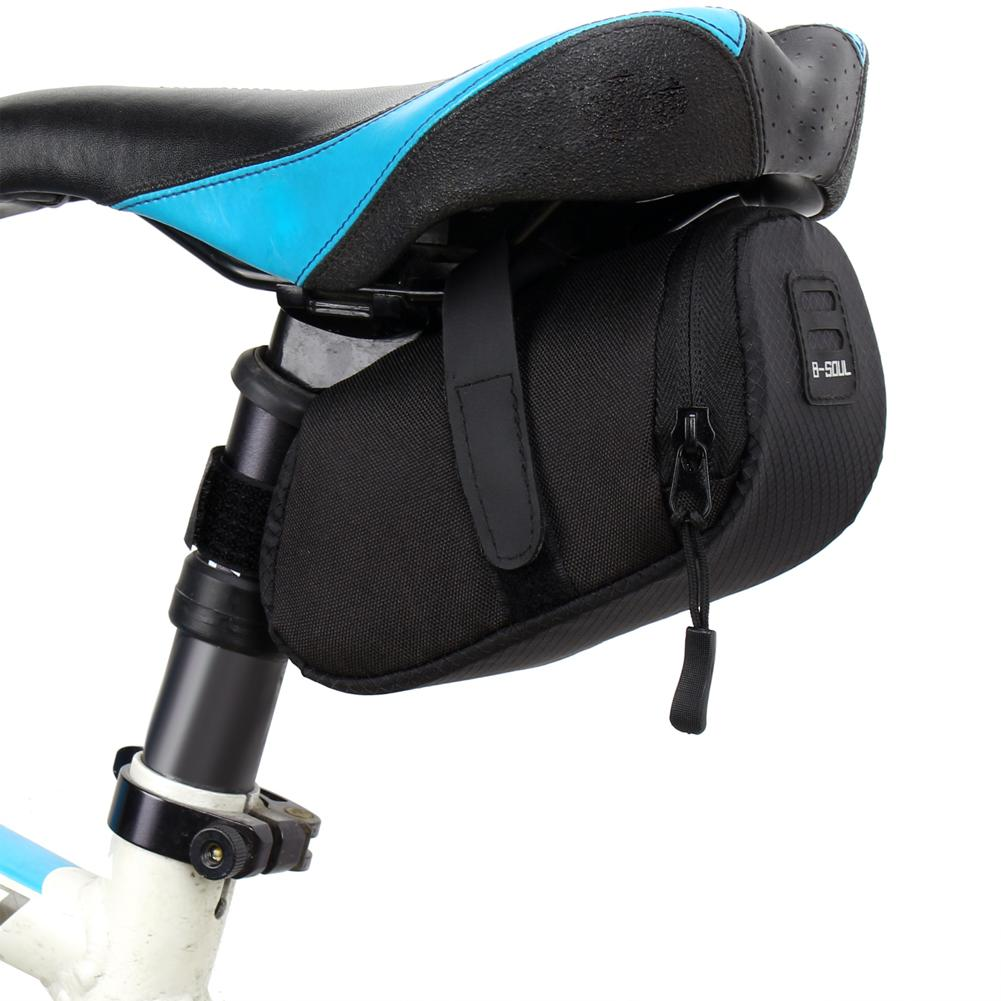 3 Color Nylon Bicycle Bag Bike Waterproof Storage Saddle Bag Seat Cycling Tail Rear Pouch Bag Saddle