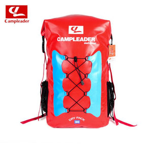30L Outdoor Waterproof Tricolor Backpack Swim Fishing Drift Upstream IPX6 Waterproof Backpack