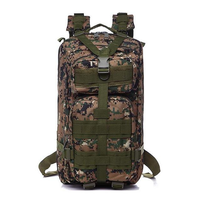 3P Military Bag Army Tactical Outdoor Camping Men's Military Tactical Backpack Oxford For Cycling Hiking Sports Climbing Bag 25L
