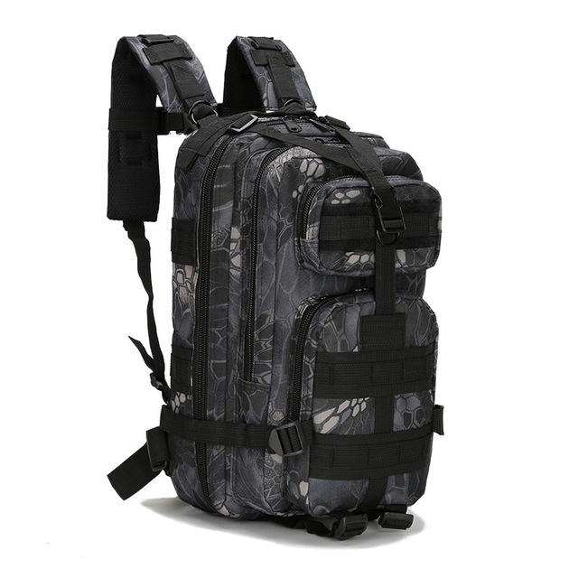 3P Outdoor Military Tactical Backpack Army Camping Hiking Sports Climbing Bags, Waterproof Tactical Camouflage Backpack