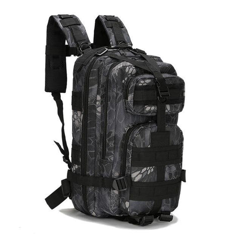 Image of 3P Outdoor Military Tactical Backpack Army Camping Hiking Sports Climbing Bags, Waterproof Tactical Camouflage Backpack