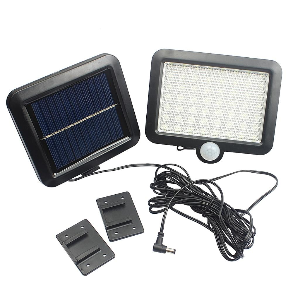 56 LED Solar Light Waterproof PIR Motion Sensor Wall Lamp Outdoor Garden Parks Security Emergency Street Solar Garden Light